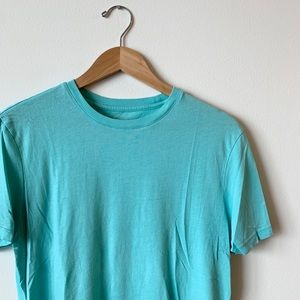 Banana Republic Men's Fitted Crew Neck Tee - Teal